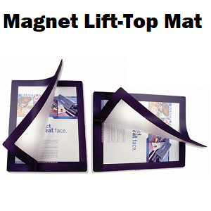 Stock Magnet Edge Lift Top Countermats